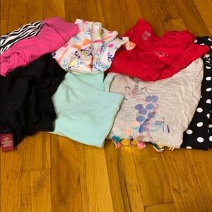 Bundle of girl clothes 6-7T